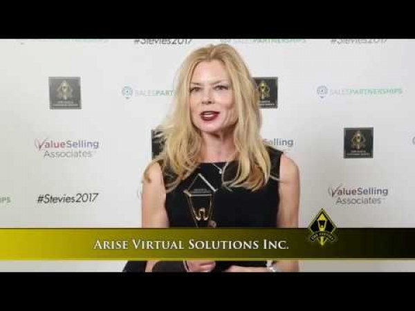 Arise Virtual Solutions Inc. wins a Stevie® Award in the 2017 Stevie Awards.