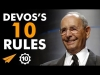"""Everybody STARTS at the BOTTOM"" - Richard DeVos's Top 10 Rules For Success"